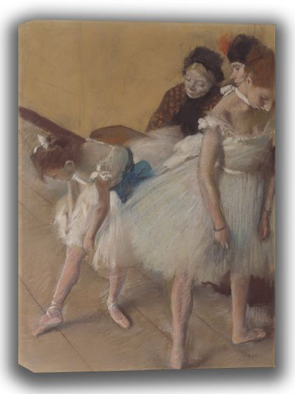 Degas, Edgar: Dance Examination. Fine Art Canvas. Sizes: A4/A3/A2/A1 (003746)